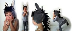 idea for donkey costume for our Christmas pageant