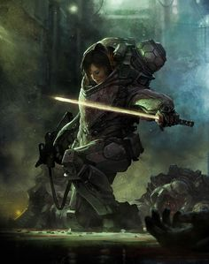 "sci fi book cover art | From the artist: ""Cover for awesome comic book ""Shrapnel: Aristeia ..."