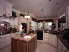 Stylish Kitchen in Plan 024D-0060 | House Plans and More