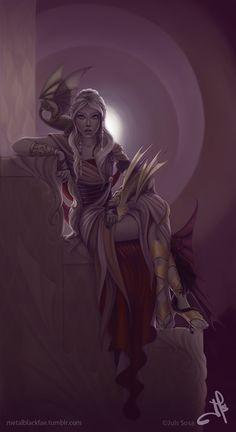 Daenerys by Metalblackfae #gameofthrones #daenerys #targaryen