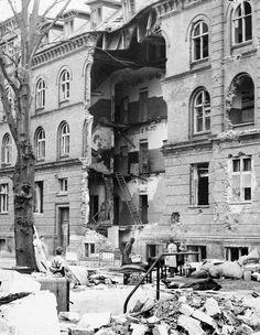 Der var indkvarteret et stort antal tyske soldater på Langelandgades Kaserne. (Besættelsesmuseet)