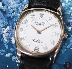 Rolex Cellini Danaos White Gold White Dial D Serial Circa 2005 4233 Luxury Watches, Rolex Watches, Rolex Cellini, Popular Watches, Rolex Datejust, Cool Watches, Fashion Watches, Omega Watch, White Gold