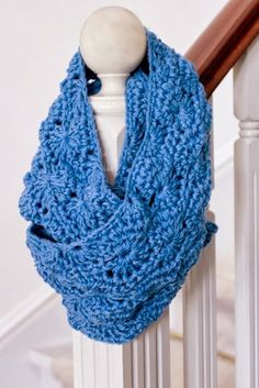 col met mooi patroon haken - pretty crochet cowl tutorial - Bees and Appletrees (BLOG)