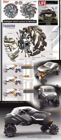 Michelin design challenge by Vasyl Sydoruk at Coroflot.com
