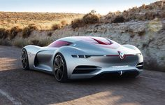 Renault Trezor Electric GT Concept Car Features Simple and Sensual Lines | Tuvie