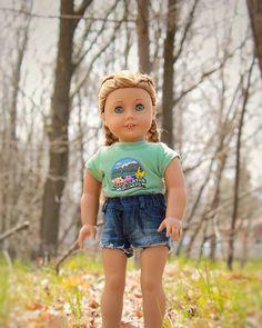 Custom American Girl Dolls, American Girl Doll Pictures, American Doll Clothes, Ag Doll Clothes, Doll Clothes Patterns, Dress Patterns, America Girl, Girl Outfits, Vogue