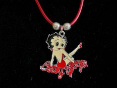 Betty Boop 18 inch Necklace by JudysEtsyStore on Etsy, $5.95
