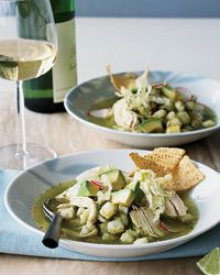 Mexican Chicken Pozole Verde Recipe on Food & Wine