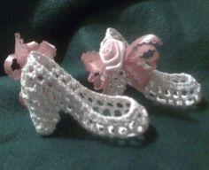 Mini Crochet Shoes