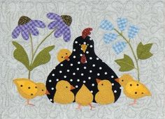 Here A Chick There A Chick BOM - Pre-fused & Pre-Cut