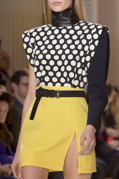 Emanuel Ungaro at Paris Fashion Week Fall 2013