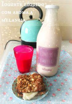 Em busca do cardamomo perdido: Iogurte líquido com aroma a melancia - receita Bimby TM5
