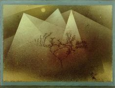 "Klee, Paul; 1879–1940. ""Gebirge im Winter"", 1925"