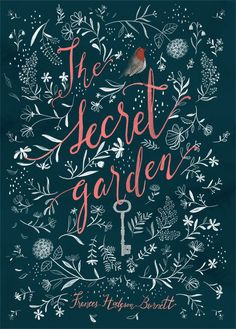 "Newest Photos Secret Garden illustration Ideas In Francis Hodgson Burnett wrote a magazine entitled ""The Secret Garden&rdquo ; Best Book Covers, Beautiful Book Covers, Book Cover Art, Book Cover Design, Book Design, Book Art, Secret Garden Book, Garden Illustration, Fantasy Books"