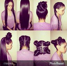 Bday hair