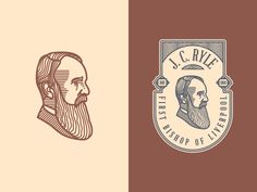 J. C. Ryle (Badge) by Peter Voth