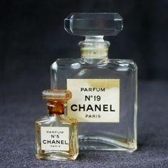 Vintage Chanel Perfume bottles
