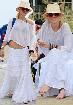 Gwen Stefani #boho #chic #style