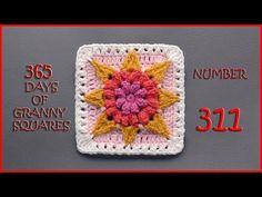 Crochet Tutorial: Hello, Sunshine Granny Square « YARNutopia by Nadia Fuad