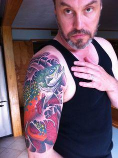 Brown Trout Tattoos | Brook Trout Tattoo Trout tattoo