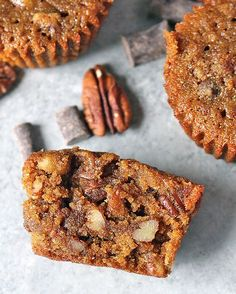 PALEO PECAN PIE MUFFINS November 8, 2016 by Jessica DeMay 6 Comments These Paleo Pecan Pie Muffins are so easy to make. They are rich, sweet and full of buttery pecans. Gluten free, dairy free, and so delicious! Report this ad I'm back with another delicious muffin recipe. You guys seem to love muffins as much as I do and I've had so much great feedback on my Paleo Pumpkin Muffins. I definitely think you'll l