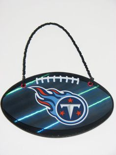 NFL Tennessee Titans Door Knob Hanger  Boys Room by JustForYou22, $4.25