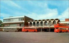 Old bus station in film girl with gifts 2016
