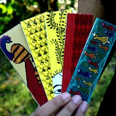 5 Bookmarks for just Rs. 55! Now you can stop folding the page edges of your brand new book!