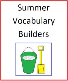 Summer Vocabulary Builders from Mary Bauer on TeachersNotebook.com -  (14 pages)  - This packet includes five sets of words for sorting, three sorting sheets, a page that shows the relationship between adjectives and adverbs and four poetry forms with original examples.