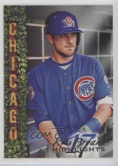 2018 Topps Wal-Mart Highlights Black #KB-27 Kris Bryant Chicago Cubs Card #ChicagoCubs Cubs Cards, Baseball Series, Chicago Cubs Baseball, Babe Ruth, Highlights, Walmart, Baseball Cards, Black, Black People