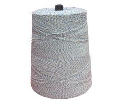 Packaging Twine, 4 Ply, Blue and White. 2 lb Cone, 3,360 Yards by A&A Line & Wire. $21.99. Cotton /polyester blend twine, 2 lb precision wound cone Ideal for tying cookie and cake boxes
