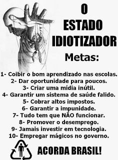 ACORDA BRASIL !!!! Motivational Posters, Decir No, Cool Photos, History, Emoticon, Manicure, Motivational, Social Justice, Powerful Quotes