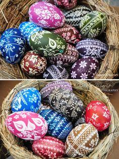 polish easter eggs #pisanki #krakow