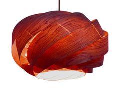 Wood Braids lamp Handmade wood pendant lampChinese ash by oaklamp