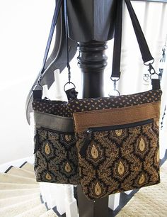 Bags made with Jo Morton Leesburg fabrics
