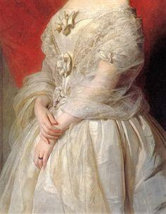 Betsy Morin by Hermann Winterhalter, 1850