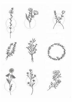 Latest minimalist tattoo ideas – Women – Diy – Tattoo Models - Famous Last Words Diy Tattoo, Henna Tattoos, Nature Tattoos, Tattoo Fonts, Sleeve Tattoos, Tattoo Quotes, Tattoo Ink, Tatoos, Tattoo Drawings