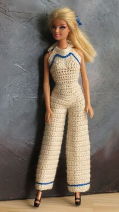 Irresistible Crochet a Doll Ideas. Radiant Crochet a Doll Ideas. Crochet Barbie Patterns, Barbie Clothes Patterns, Crochet Doll Pattern, Crochet Dolls, Clothing Patterns, Dress Patterns, Knitting Dolls Clothes, Crochet Barbie Clothes, Barbie Dress