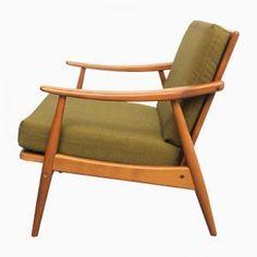 60er Teak Sessel Danish Design 60s Easy Chair Vintage ...