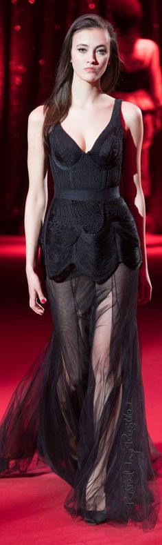 Ulyana Sergeenko Couture Spring-Summer 2017