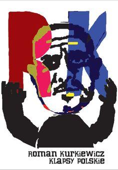 """""""Klapsy polskie. Felietony"""" Roman Kurkiewicz Published by Wydawnictwo Iskry 2009"""