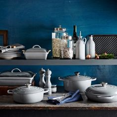 Le Creuset - French Grey | Williams-Sonoma shut up! I need this color in my collection