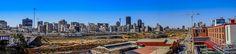 Johannesburg Central and Mandela bridge San Francisco Skyline, South Africa, New York Skyline, Bridge, Public, Travel, Viajes, Bridges, Bro
