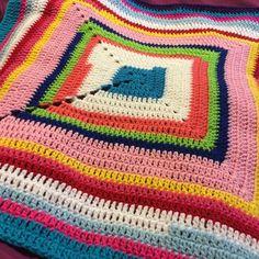 #stashbusting #Kogo #knitonegiveone #crochet #solidsquare