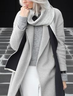my dubio all grey outfit minimal fashion blog