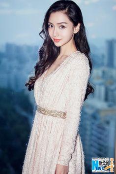 Hong Kong actress Angelababy  http://www.chinaentertainmentnews.com/2015/11/angelababy-at-fashion-event_13.html