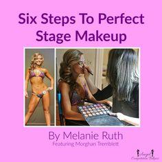 NPC competition makeup, show day makeup, bikini competition makeup