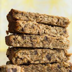 Buckwheat Groats Banana Bread Protein Bars