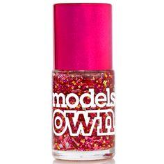 Buy Models Own Mirrorball Nail Polish in Hot Stuff at Motel Rocks Magenta, Models, Asos Online Shopping, Latest Fashion Clothes, Voss Bottle, Hot, Nail Polish, Make Up, Stuff To Buy