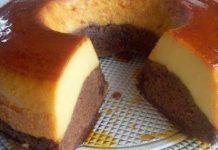 Prăjitură cu cremă de zahăr ars şi blat de chec. Este cu totul deosebită și ideală pentru o ocazie specială sau un eveniment important Dairy, Food, Essen, Meals, Yemek, Eten